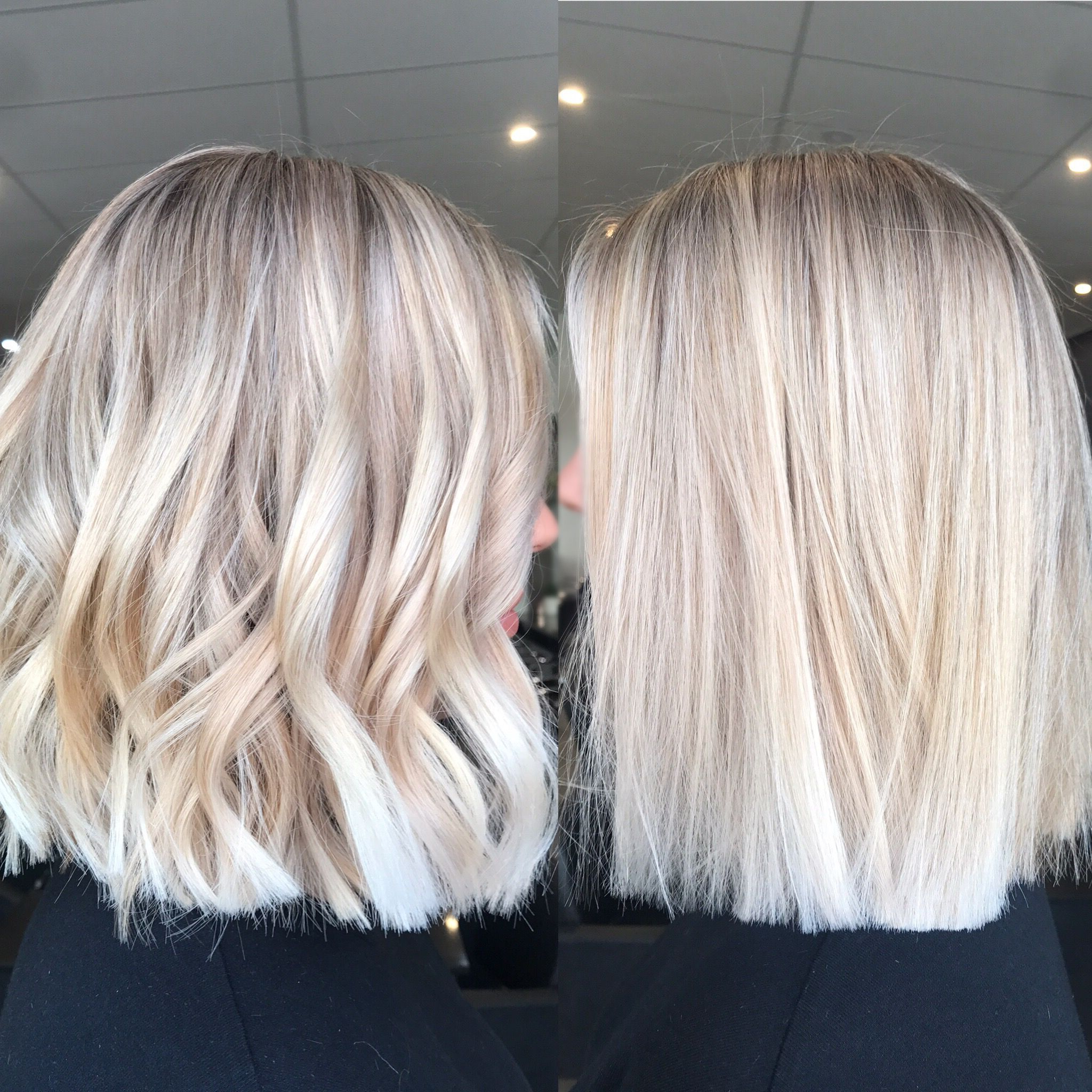 Hair Inspiration ️ Instagram @kaitlinjadehairartistry With Long Pixie Hairstyles With Dramatic Blonde Balayage (View 15 of 20)