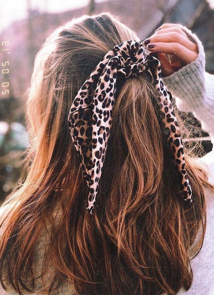 Hair Styles, Aesthetic With Most Current Scrunchie Hairstyles (View 18 of 20)