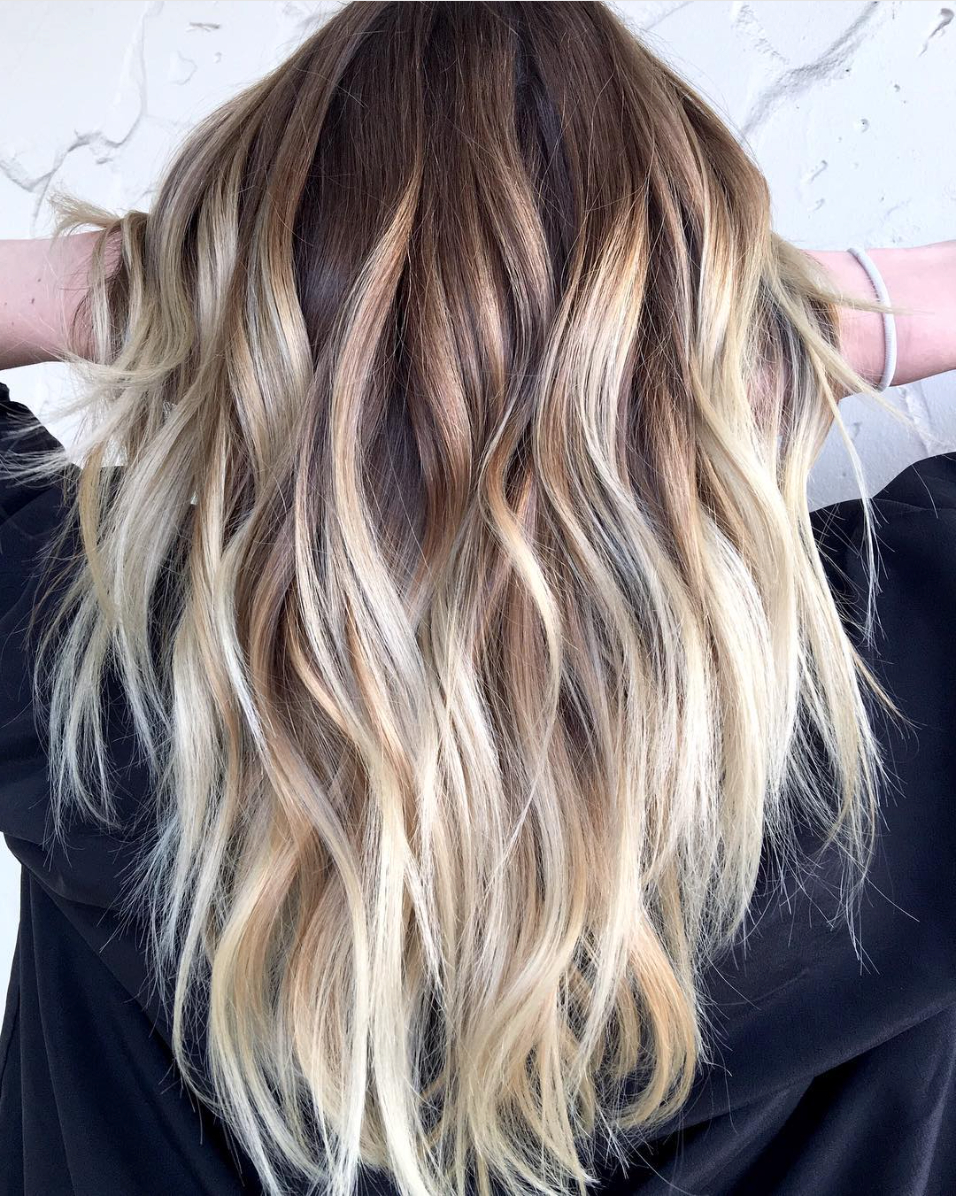 High Contrast Blonde Balayage – Behindthechair For Blonde Balayage Hairstyles (View 16 of 20)