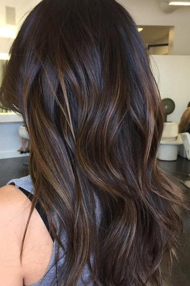 Image Result For Balayage Fall | Brunette Balayage Hair With Regard To Subtle Balayage Highlights For Short Hairstyles (Gallery 2 of 20)