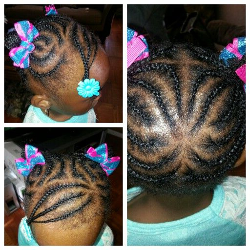 Kid Braid Styles, Black Baby Girl Intended For Famous Baby Ponytails Hairstyles (View 4 of 20)