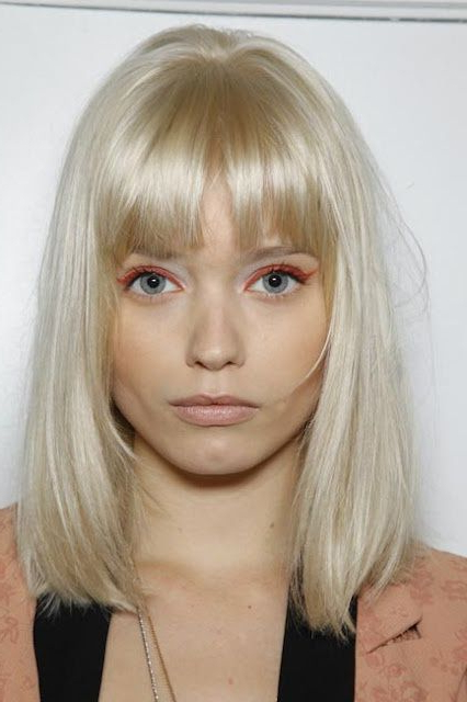 Latest Platinum Blonde Pixie Hairstyles With Long Bangs Pertaining To Pin On Look Book (View 14 of 20)