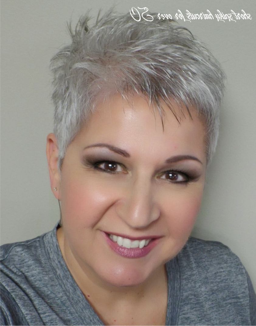 Latest Spiky Short Hairstyles With Undercut Within 8 Short Spiky Haircuts For Over 50 – Undercut Hairstyle (View 3 of 20)