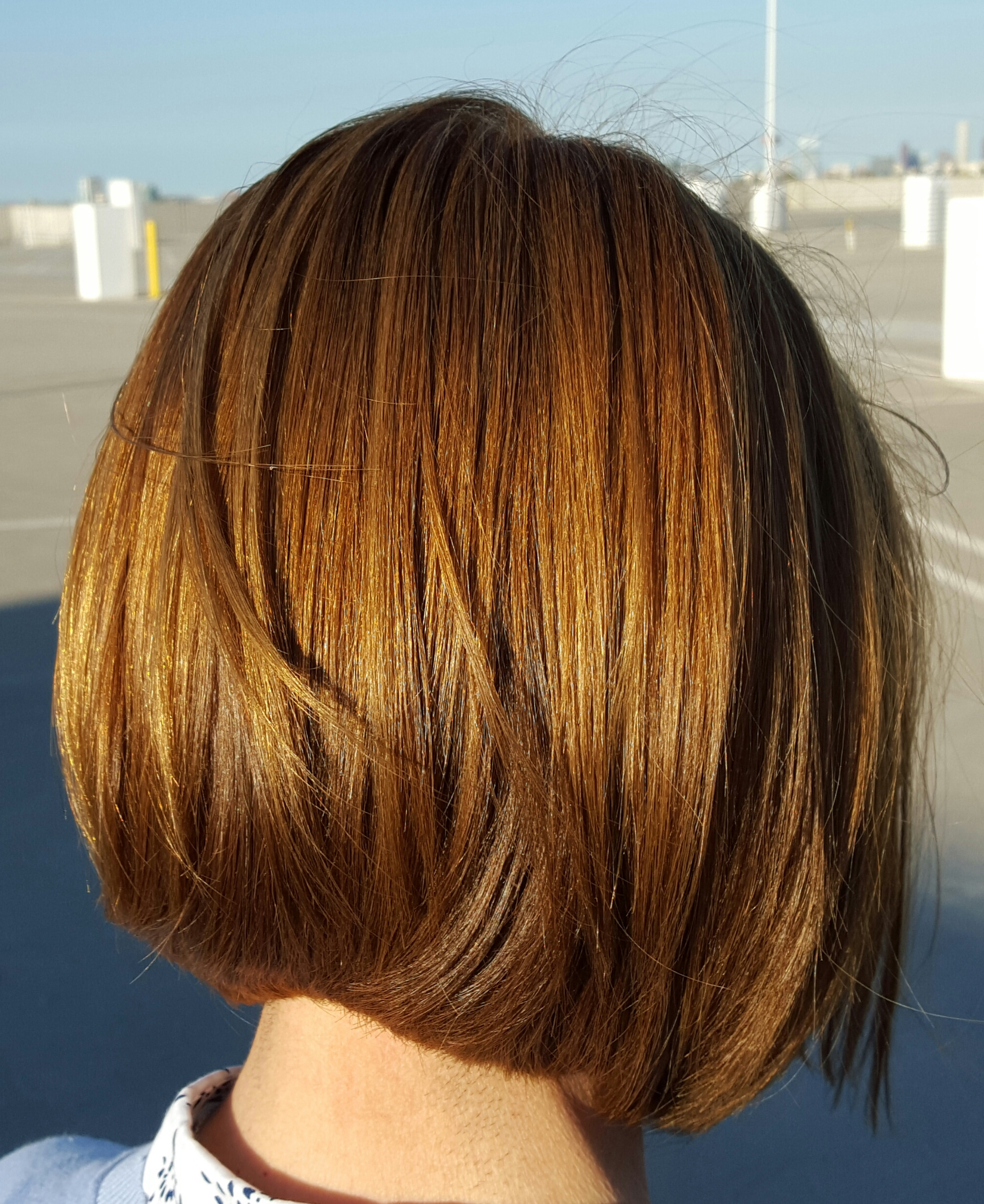 Light Brown And Caramel Hair Color – Todd Sterling Throughout Short Hairstyles With Delicious Brown Coloring (View 7 of 20)