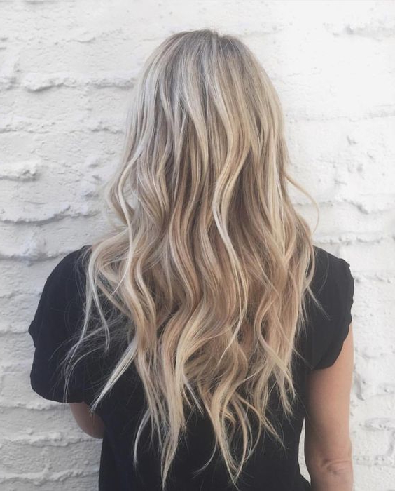 Light Brown Hair Color & Dye Ideas And Tip You Must Know Throughout Brown Blonde Sweeps Of Color Hairstyles (View 12 of 20)