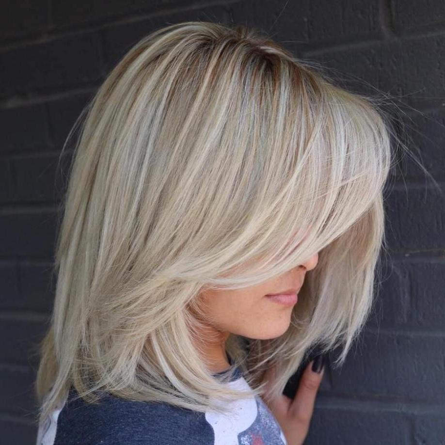 Long Layered Blonde Balayage Bob | Long Hair Styles, Long Within Balayage Highlights For Long Bob Hairstyles (View 5 of 20)
