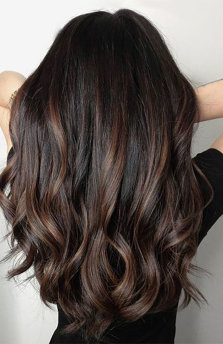 Most Breathtaking Highlights For Black Hair For 2019 Throughout Short Brown Hairstyles With Subtle Highlights (View 17 of 20)