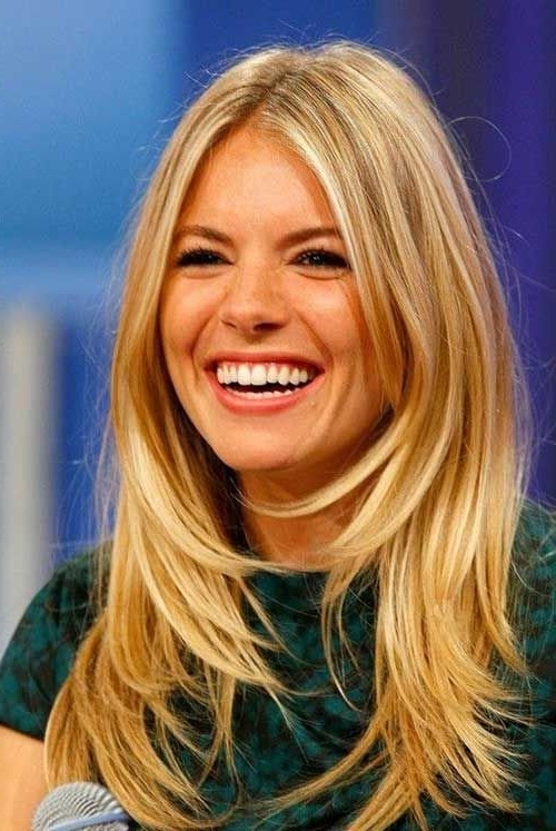 Most Current Blonde Longer Face Framing Layers Hairstyles Throughout 39 Long Hairstyles With Layers: Get The Celebrity Look In (View 10 of 20)