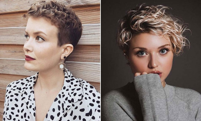Most Current Curly Pixie Hairstyles With Segmented Undercut Intended For 21 Best Curly Pixie Cut Hairstyles Of  (View 18 of 20)