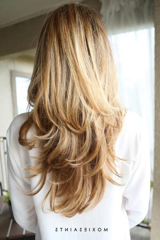 Most Current Layered Ringlets Hairstyles Regarding 12 Best Long Haircuts For Long Layered Hair – Fashion Daily (View 11 of 20)