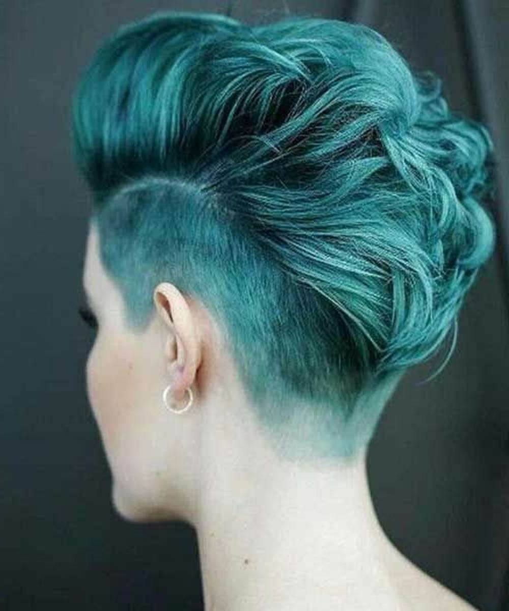 Most Current Pixie Undercuts For Curly Hair Within Undercut Short Pixie Hairstyles For Ladies (2021 Update (View 10 of 20)