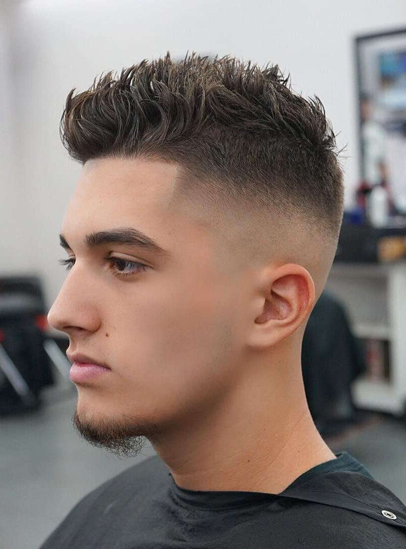 Most Current Spiky Short Hairstyles With Undercut With Regard To Mens Short Hairstyles – 30 Trendy And Fashionable Haircut (View 15 of 20)