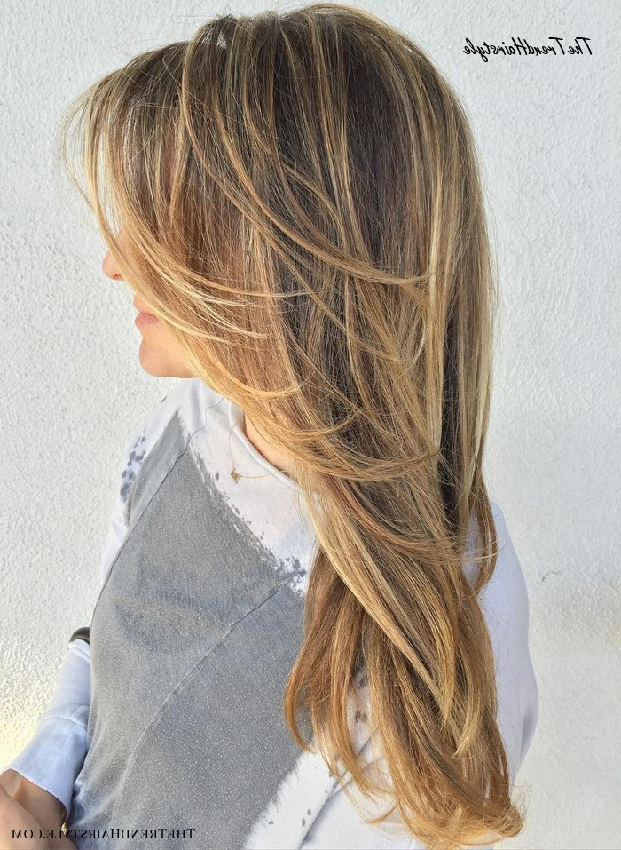 Most Popular A Shape Framed Haircuts Inside Face Framing Layers – 80 Cute Layered Hairstyles And Cuts (View 18 of 20)