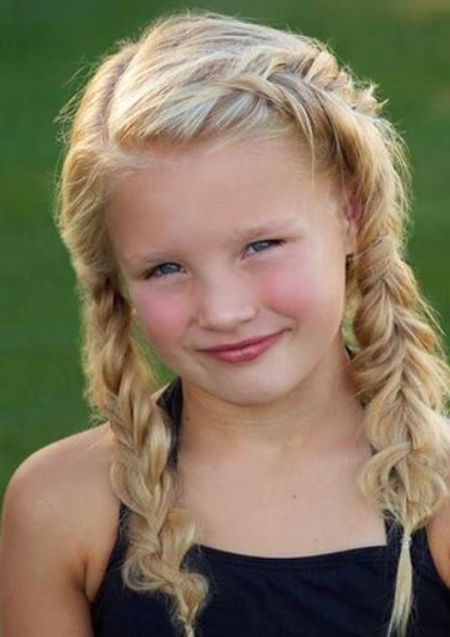 Most Popular Pigtails Hairstyles Intended For Different Braided Pigtail Hairstyles (View 14 of 20)