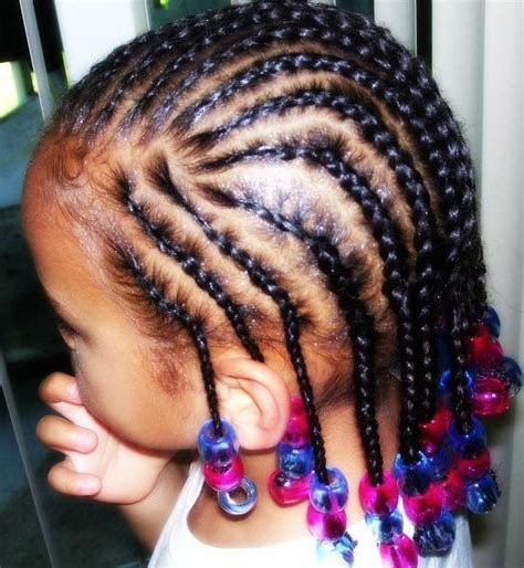 Most Popular Pins And Beads Hairstyles Pertaining To Pin On Cute Little Girl Hairstyles (View 10 of 20)