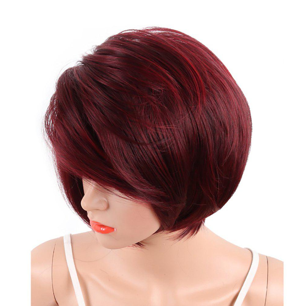[%most Recent Two Tone Undercuts For Natural Hair Inside [38% Off] White Women Short Bob Style Red Two Tone Color [38% Off] White Women Short Bob Style Red Two Tone Color Throughout 2017 Two Tone Undercuts For Natural Hair%] (View 18 of 20)