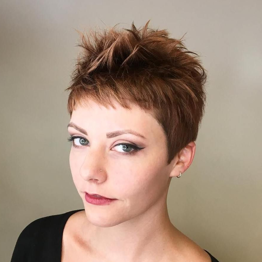 Most Recently Released Edgy Undercut Pixie Hairstyles With Side Fringe Regarding Pin On Hair Cuts (View 17 of 20)