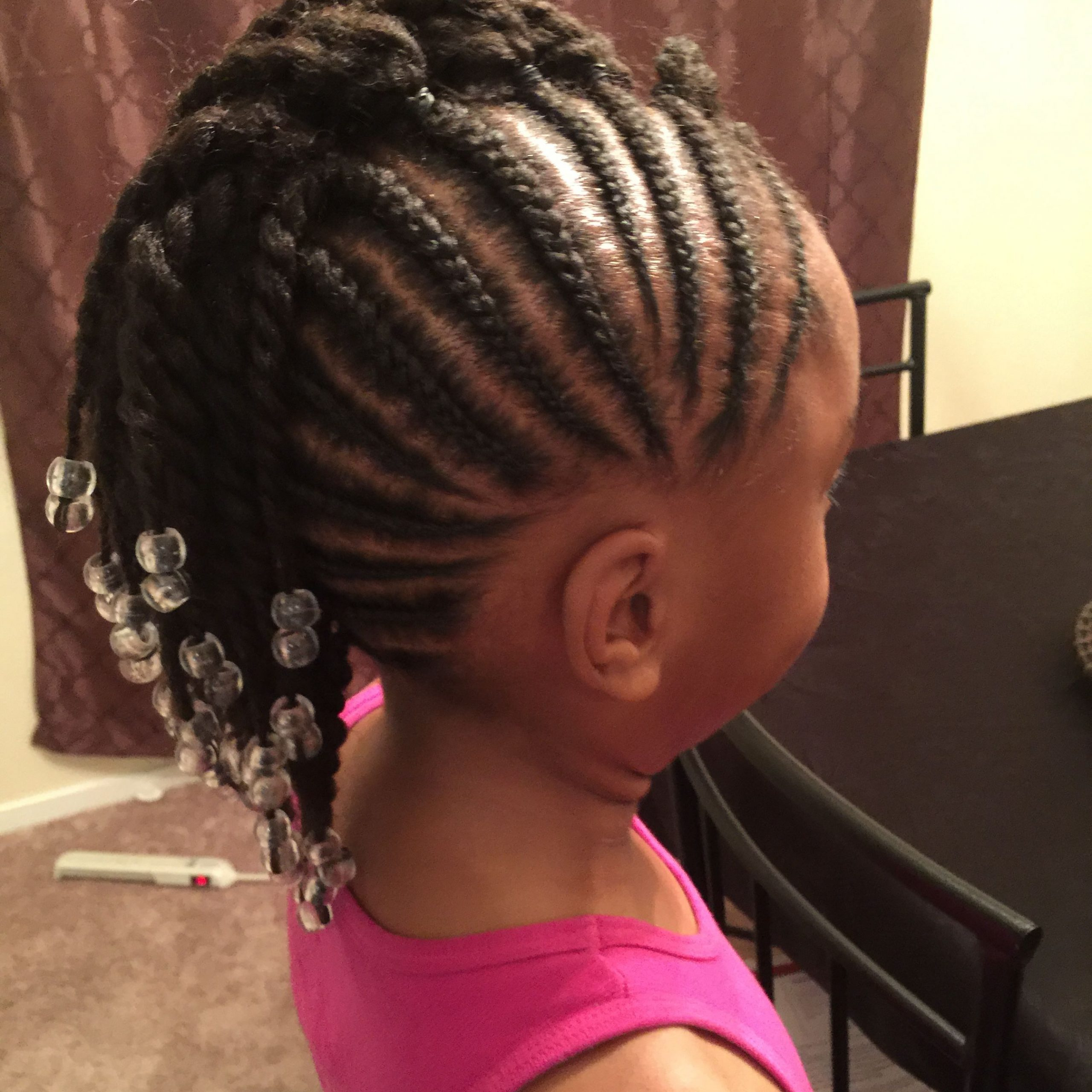 Most Recently Released Pins And Beads Hairstyles Pertaining To Pin On Hairstyles For Little Girls (View 7 of 20)