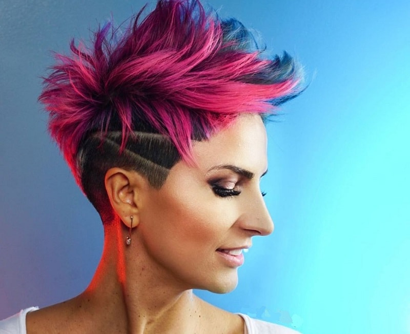 Most Recently Released Pixie Undercuts For Curly Hair Intended For 20 Best Undercut Pixie Ideas For 2021 – Styledope (View 4 of 20)