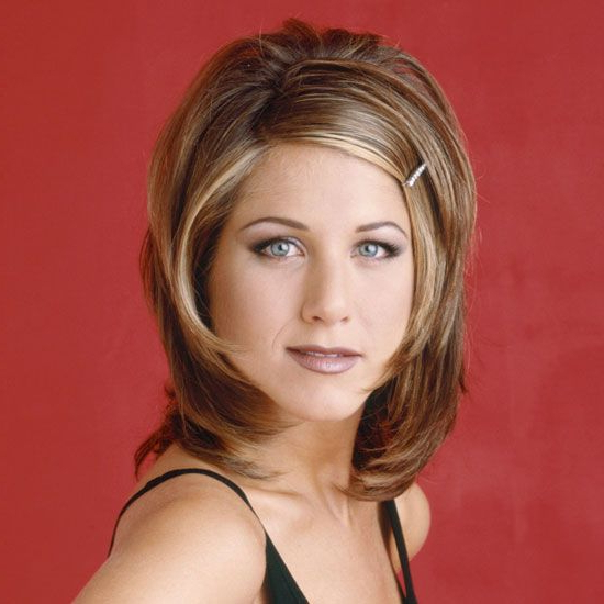"""Most Recently Released """"the Rachel"""" Haircuts With Regard To Pin On Throwback Thursday Hair (View 5 of 20)"""