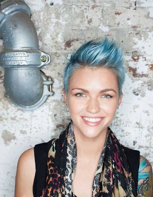 Most Up To Date Pastel Pixie Hairstyles With Undercut For Pin On Hair (View 18 of 20)