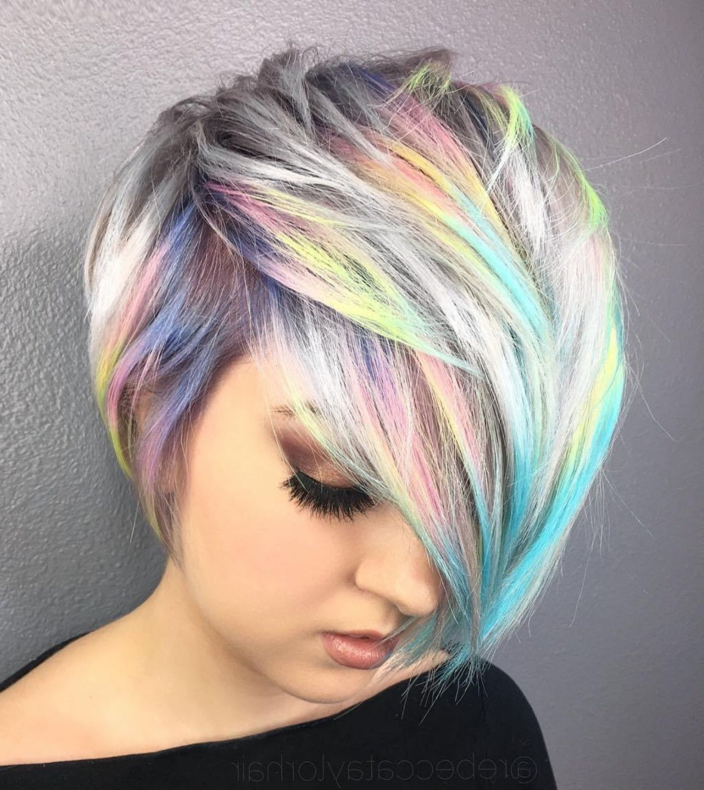 Most Up To Date Pastel Pixie Hairstyles With Undercut In Pin On Sandra (View 3 of 20)