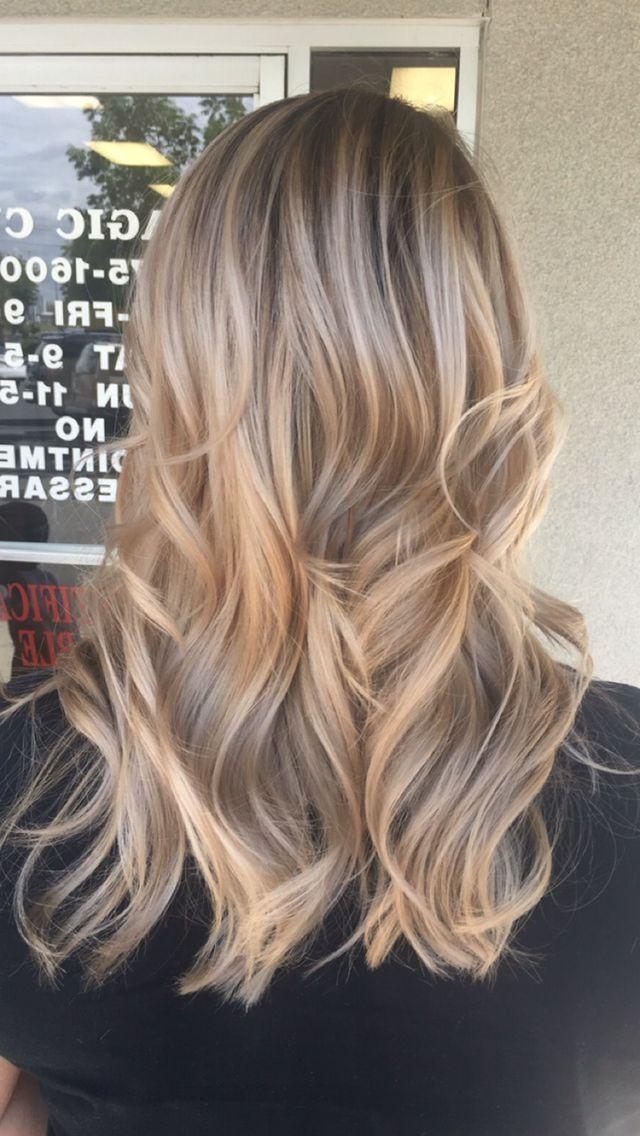 Natural Blonde Balayagé | Balayage Hair, Natural Blonde Pertaining To Strawberry Blonde Balayage Hairstyles (View 10 of 20)