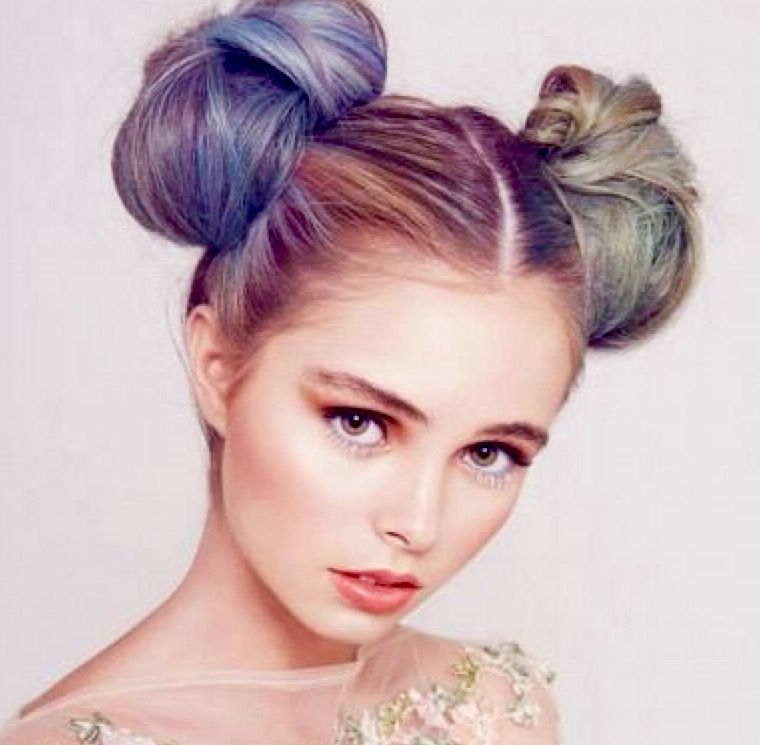 Newest Rave Buns Hairstyles With Pastel Minnie Mouse Buns (View 4 of 20)
