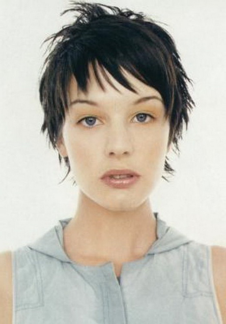 Newest Short And Choppy Graduated Pixie Haircuts With Short Choppy Layered Haircuts (View 17 of 20)