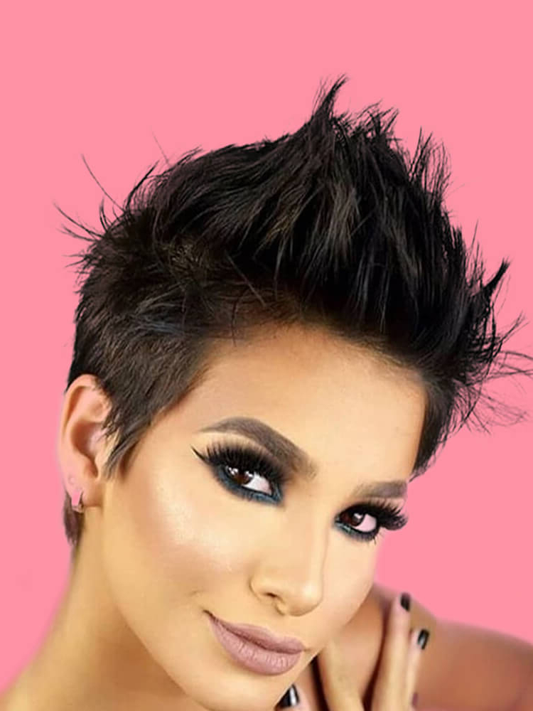 Newest Undercut Pixie Hairstyles With Hair Tattoo Pertaining To 22+ Stunning Short Edgy Pixie Hairstyles Designs And Cuts (View 3 of 20)