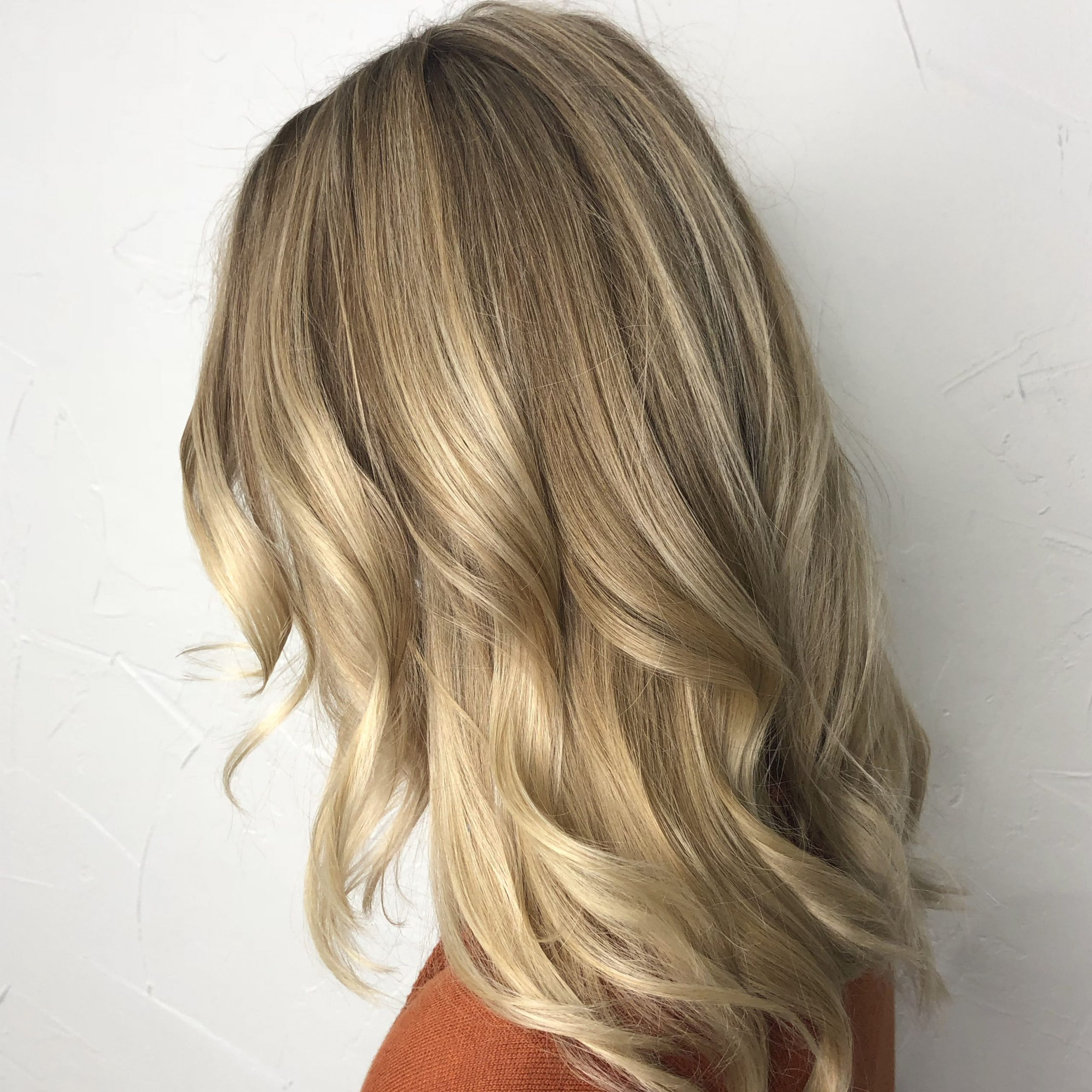 Ombré Blonde Balayage & Loose Bohemian Curls ♥️   Blonde In Beachy Waves Hairstyles With Balayage Ombre (View 5 of 20)