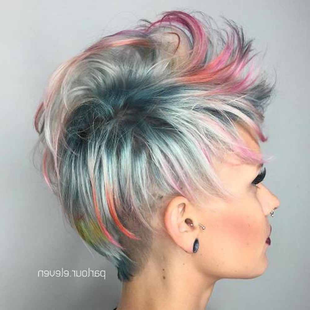 Overwhelming Short Choppy Haircuts For 2018 2019 (bob Inside Well Known Short And Choppy Graduated Pixie Haircuts (View 8 of 20)