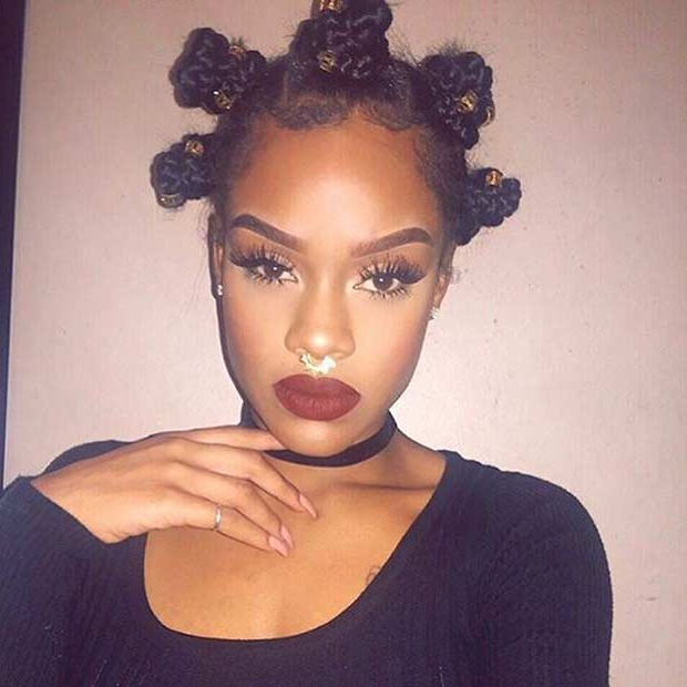 Featured Photo of Bantu Knots Hairstyles