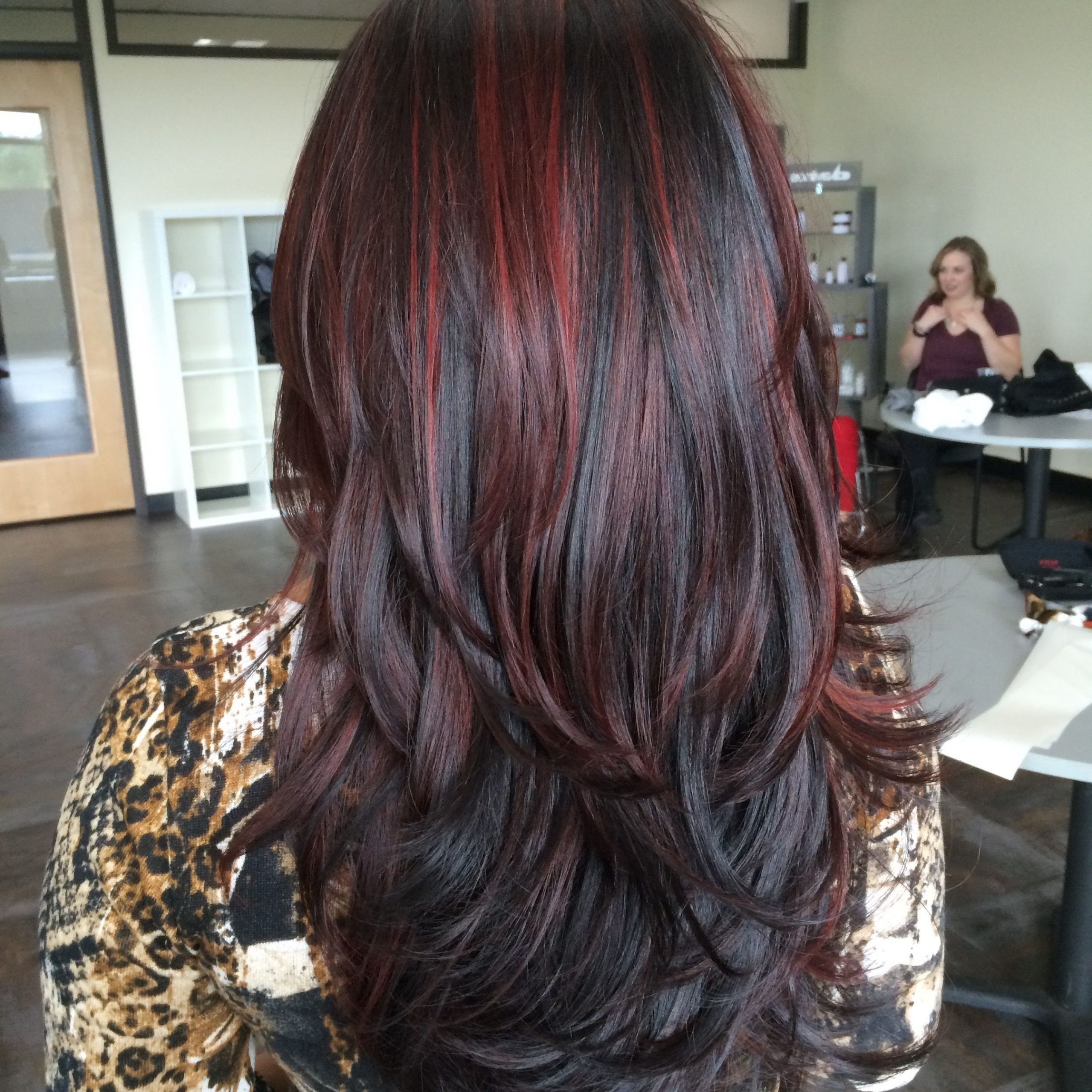 Pin On Balayage & Beyond In Bright Red Balayage On Short Hairstyles (View 13 of 20)