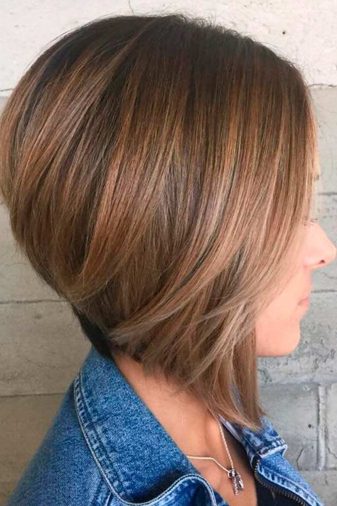 Pin On Bob Hairstyles Inside Lavender Balayage For Short A Line Haircuts (Gallery 7 of 20)