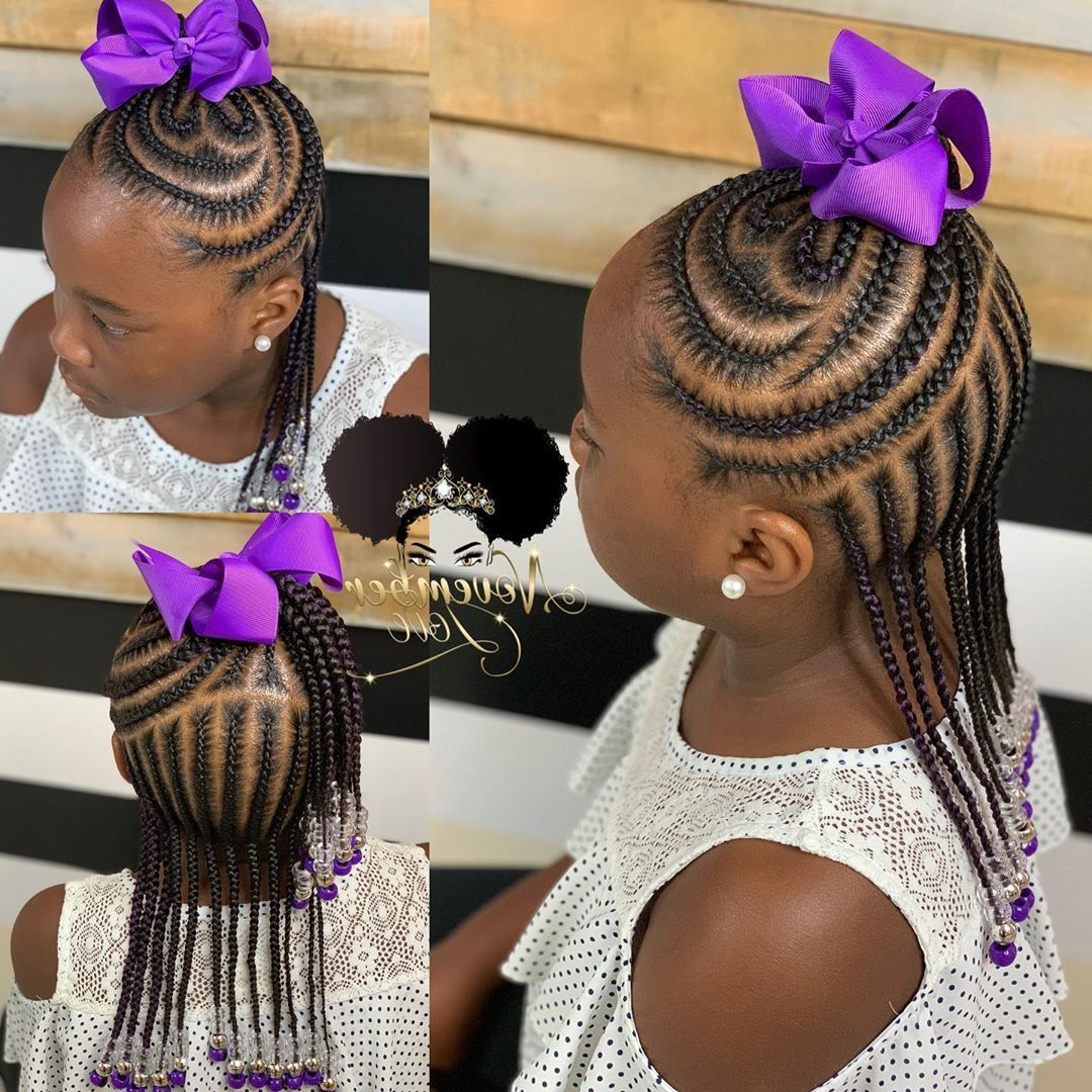 Pin On Braids Throughout Fashionable Pins And Beads Hairstyles (View 2 of 20)
