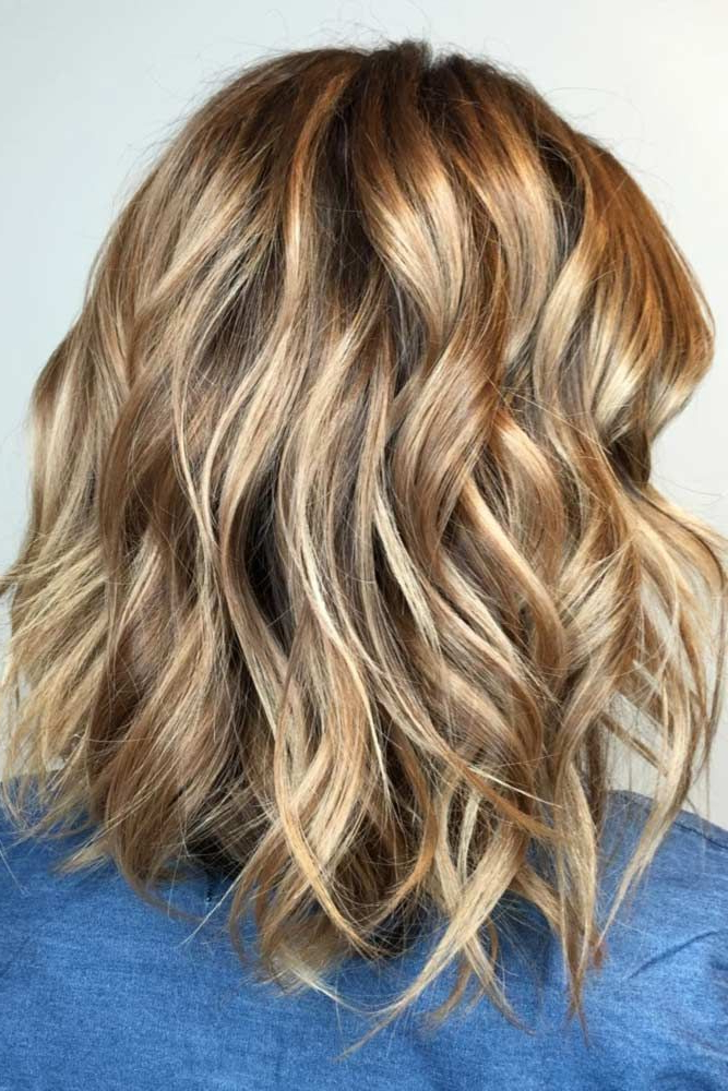 Pin On Hair & Beauty In Brown Blonde Sweeps Of Color Hairstyles (View 7 of 20)