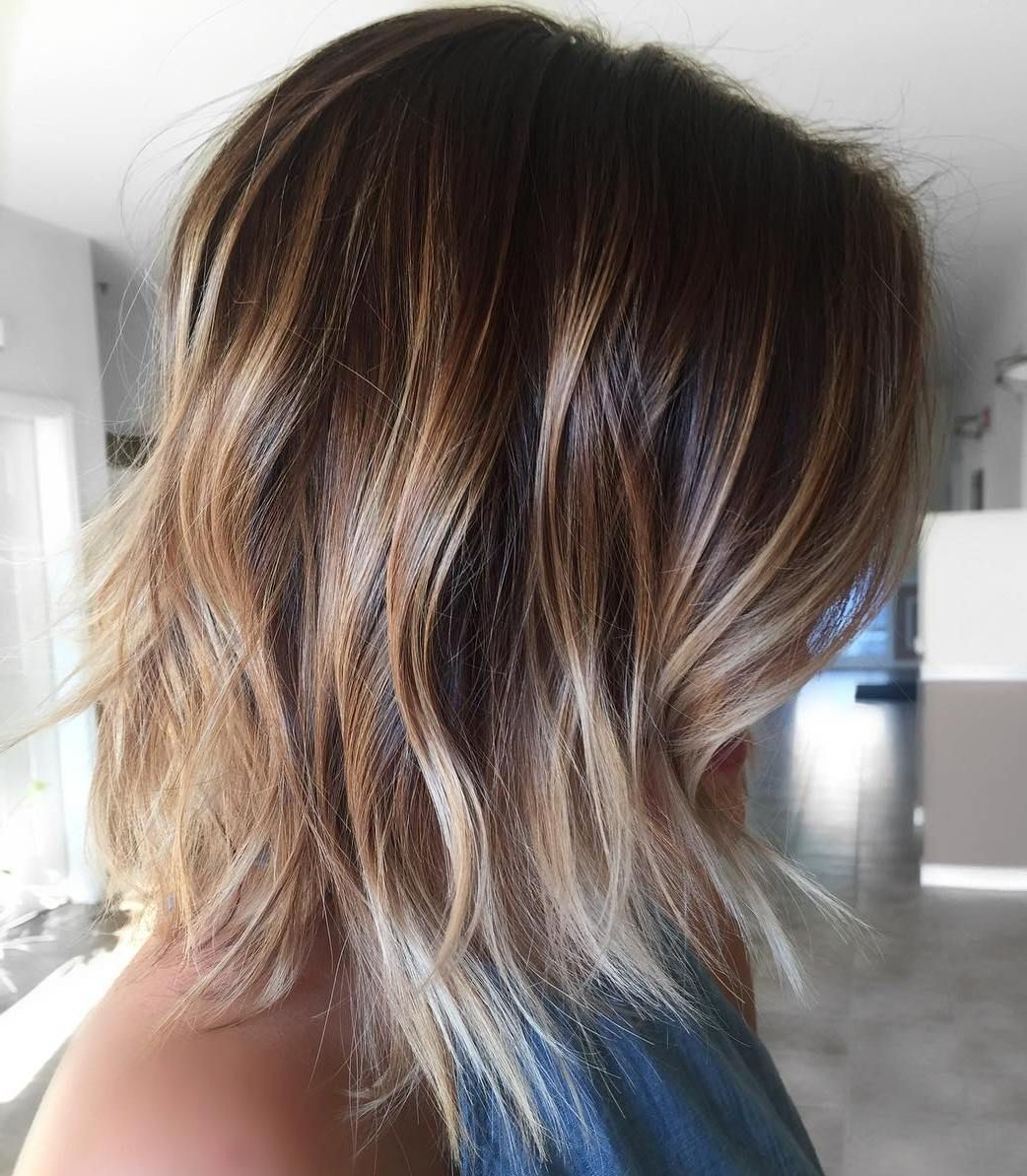 Pin On Hair Intended For Cinnamon Balayage Bob Hairstyles (View 7 of 20)
