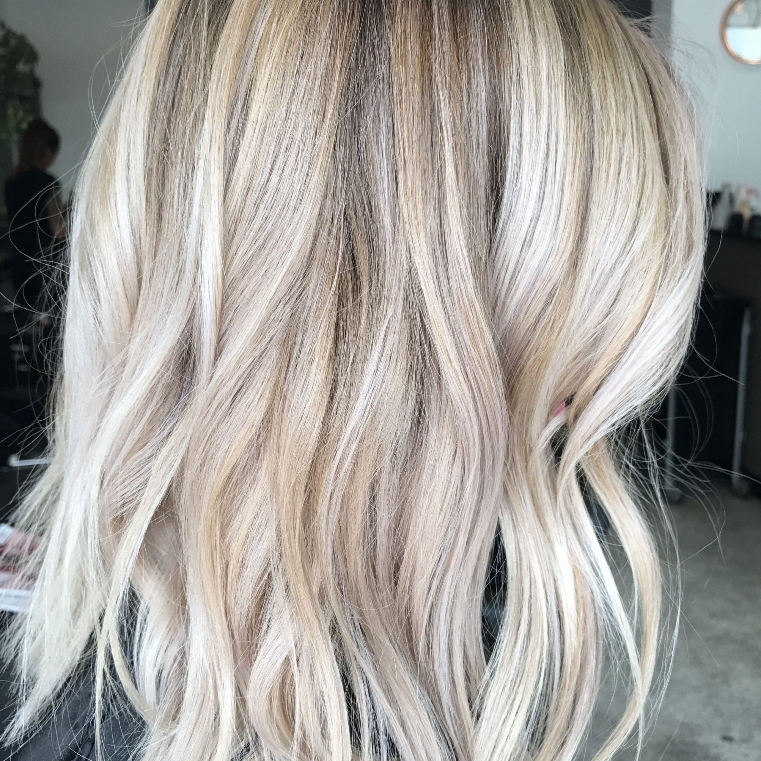 Pin On Hair Stuff With Regard To Shaggy Bob Hairstyles With Blonde Balayage (View 5 of 20)