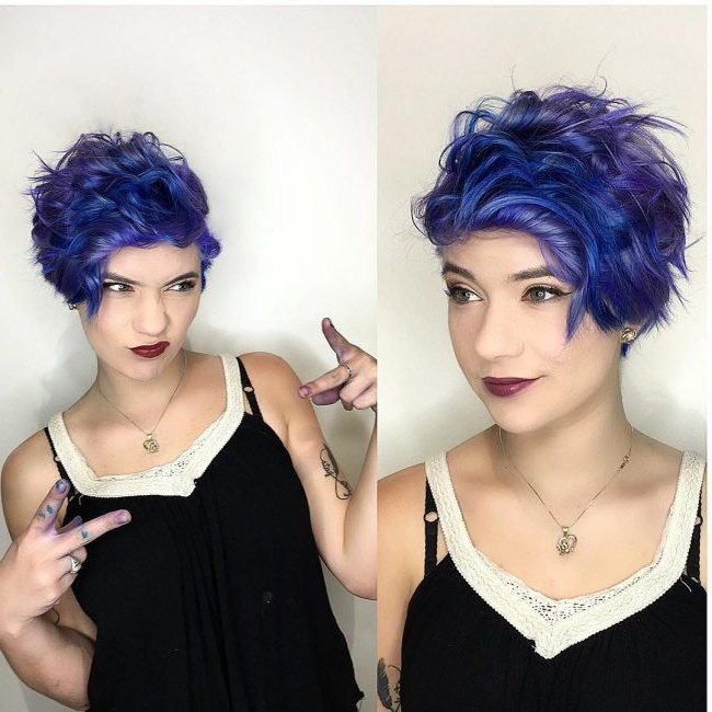 Pin On Hair! With Fashionable Pastel Pixie Hairstyles With Undercut (View 14 of 20)