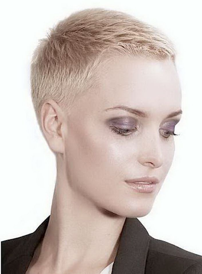Pin On Hairstyles I Like With Regard To 2017 Tousled Pixie Hairstyles With Super Short Undercut (View 4 of 20)