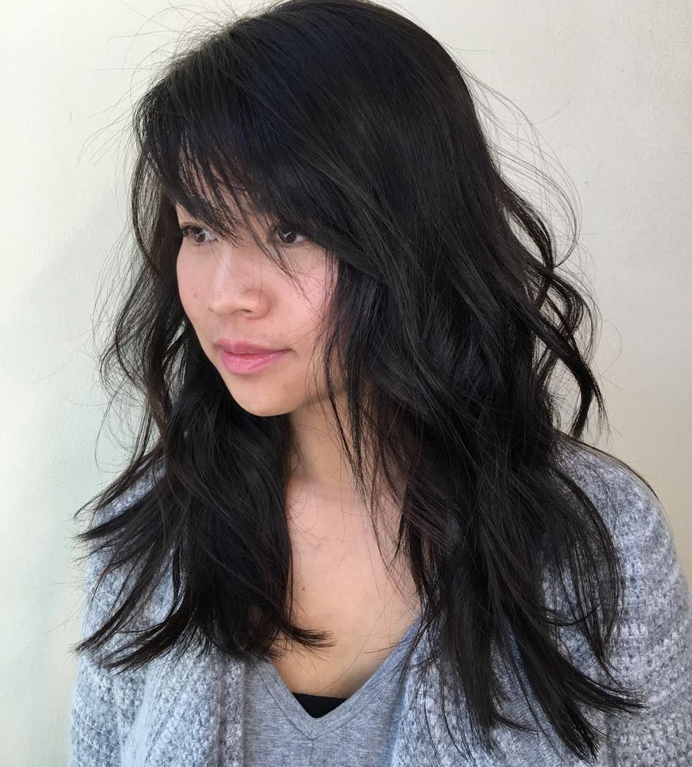 Pin On Hairstyles Within 2020 Side Swept Face Framing Layers Hairstyles (View 8 of 20)