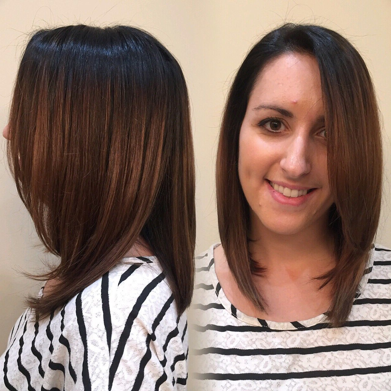 Pin On Ig: Knot And Mane Inside Balayage Highlights For Long Bob Hairstyles (View 8 of 20)