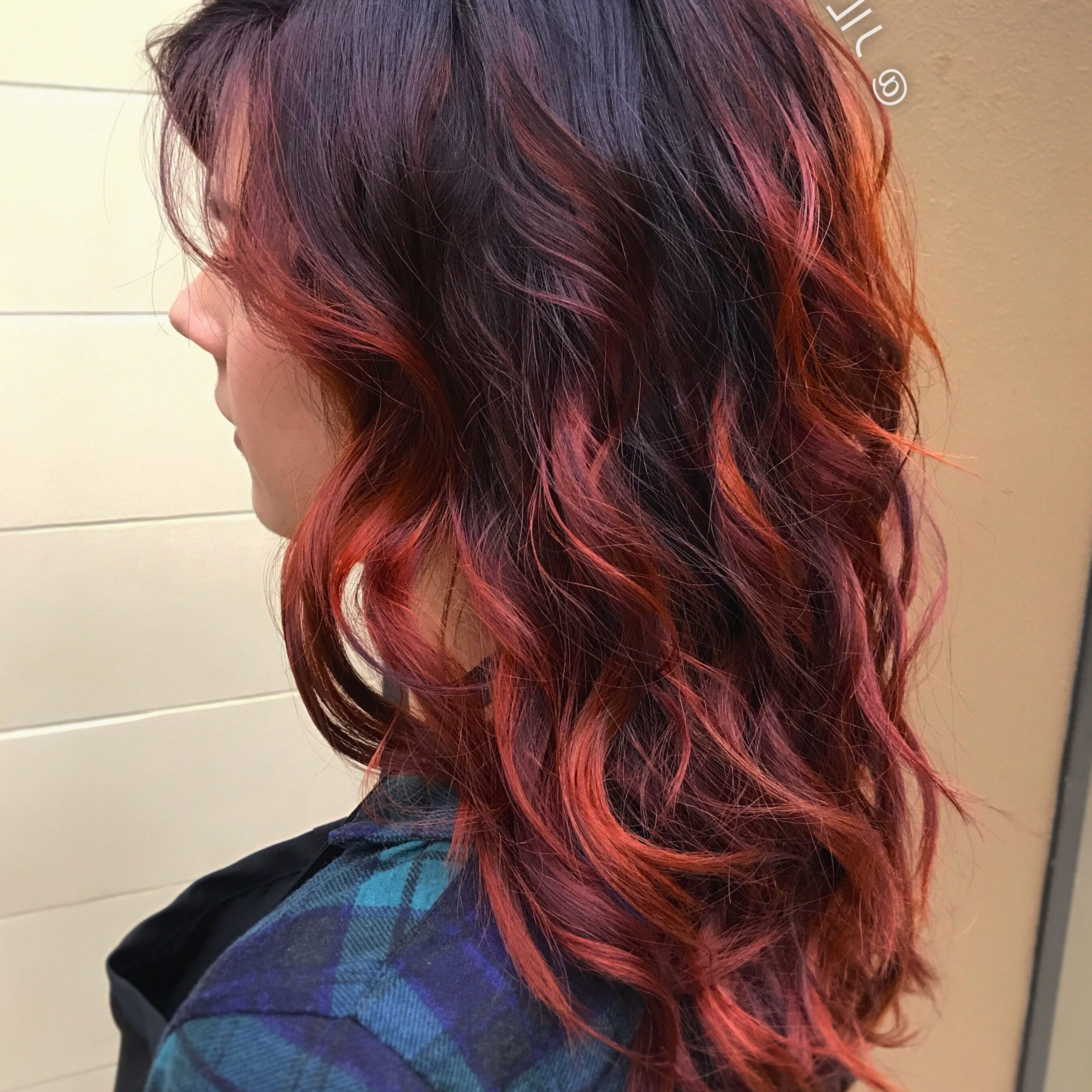 Pin On @jilmorrishair Inside Pixie Hairstyles With Red And Blonde Balayage (View 5 of 20)