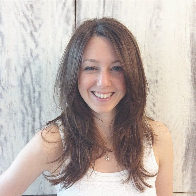 Pin On Layered Hair Pertaining To Trendy Choppy Layers Hairstyles With Face Framing (View 7 of 20)