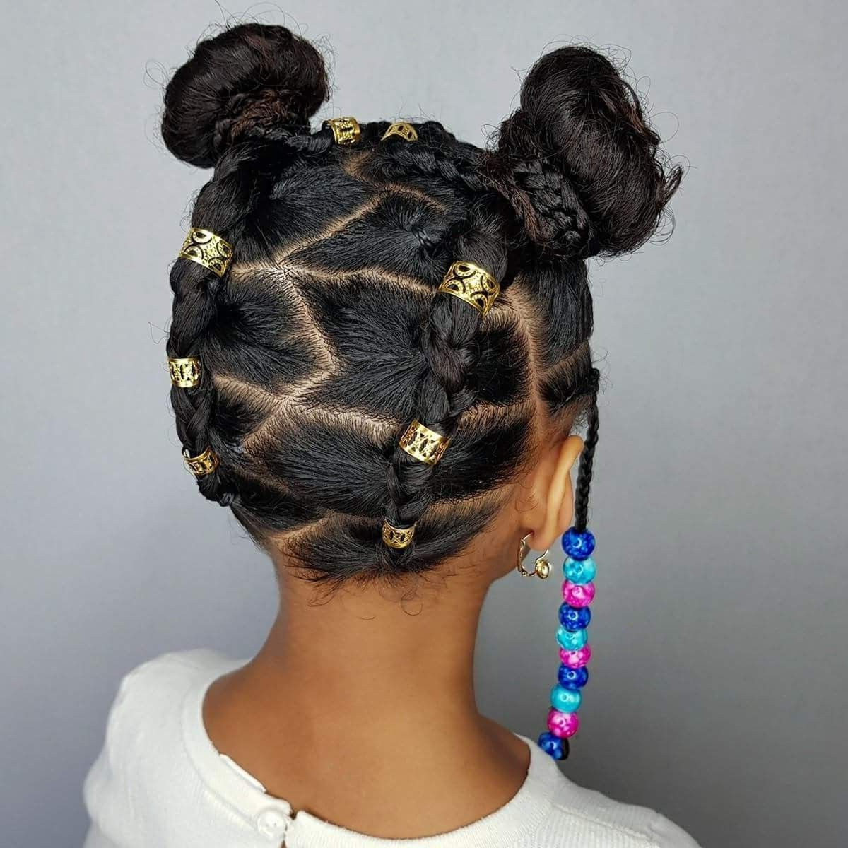 Pin On Natural Hair Versatility Regarding Famous Pins And Beads Hairstyles (View 12 of 20)