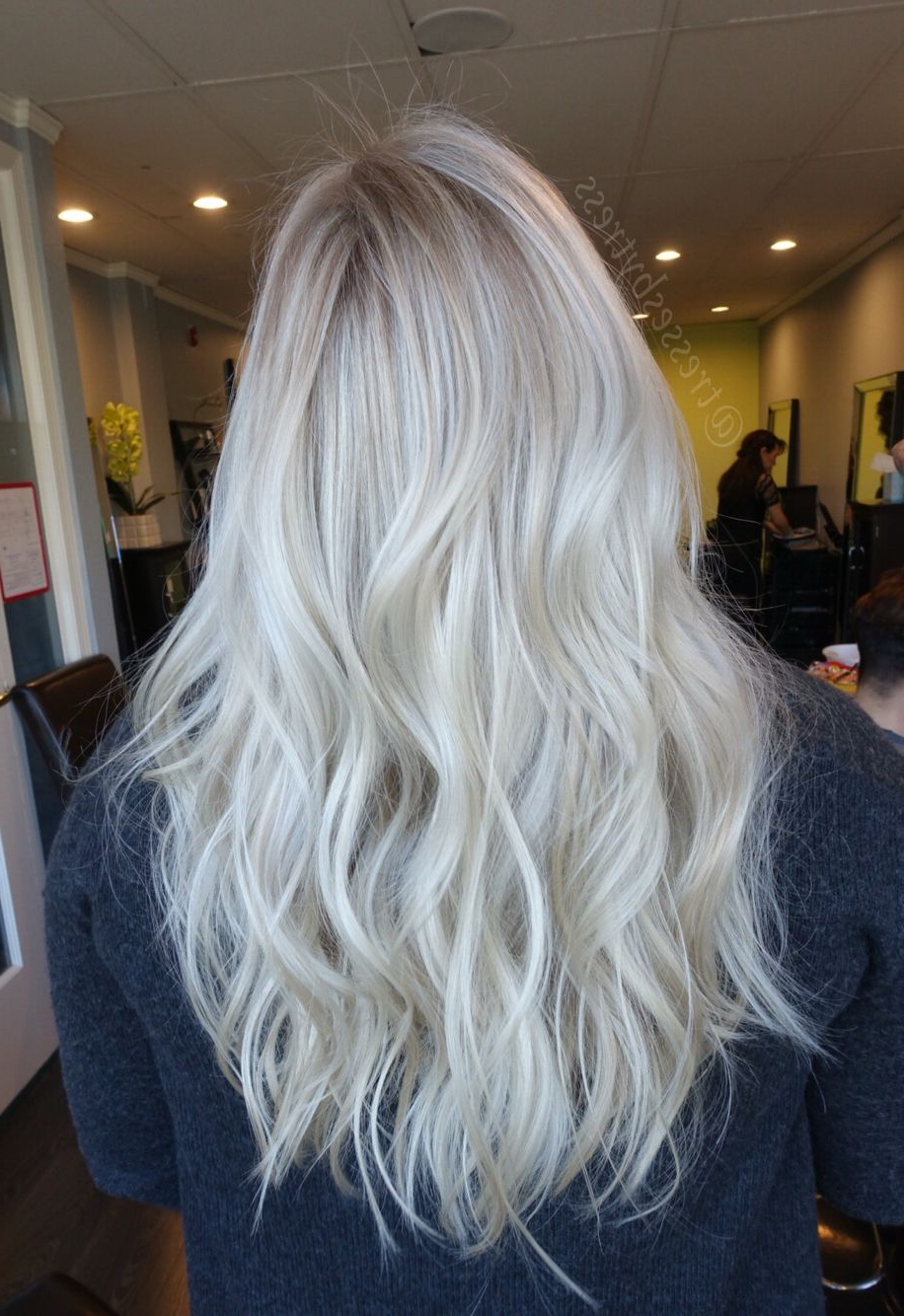 Pin On Ombre/balayage With Ash Blonde Balayage Ombre On Dark Hairstyles (View 11 of 20)