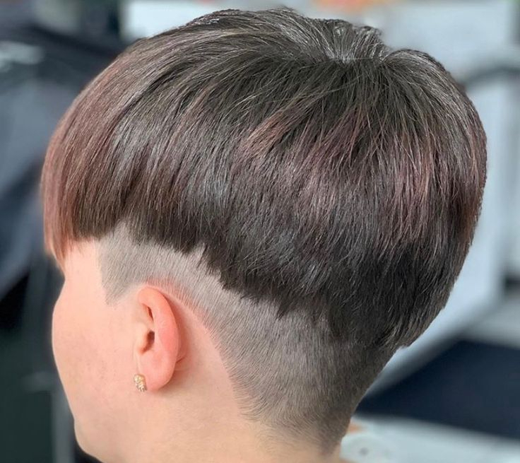 Pin On Pixie Undercuts For Trendy Contrasting Undercuts With Textured Coif (View 16 of 20)