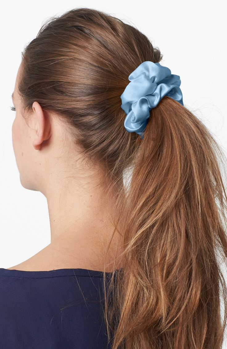 Pin On Scrunchies Omg Intended For Current Scrunchie Hairstyles (View 15 of 20)