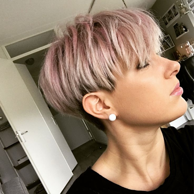 Pin On Short Hair Intended For Most Recently Released Pastel Pixie Hairstyles With Undercut (View 9 of 20)